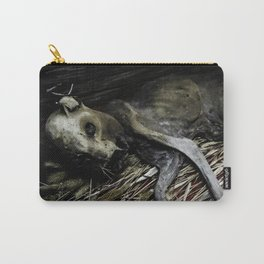 Mummified Cat Carry-All Pouch