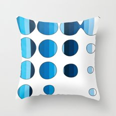 Spots and Stripes Throw Pillow