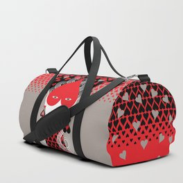The queen of hearts Duffle Bag