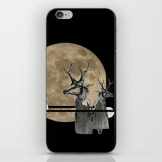 Moon Dance iPhone & iPod Skin