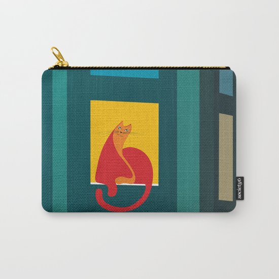 Cat in the window Carry-All Pouch