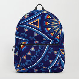 Blue Fire Keepers Backpack