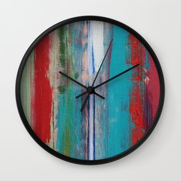 Turquoise Tortoise   Wall Clock