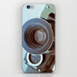 Vintage old movie Super-8 camera iPhone Skin