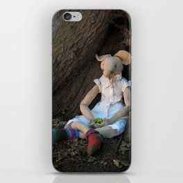 Miss Mouse under the Oak Tree iPhone Skin