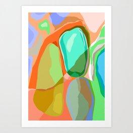 orgánica Art Print