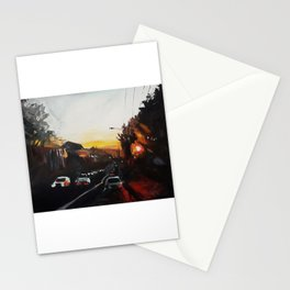 Sunset on West 18th Stationery Cards
