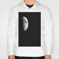 dark side of the moon Hoodies featuring Dark Side of the Moon by Catherine1970