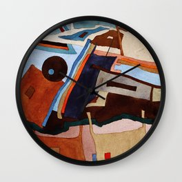 Landscape of the Heart Wall Clock