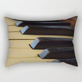 Off Key Rectangular Pillow