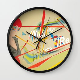 Abstractionist – Mutiny Wall Clock