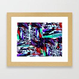 Stress Painting Framed Art Print