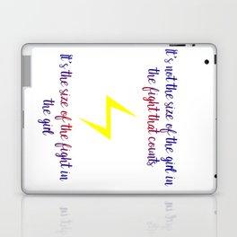 fight in the girl Laptop & iPad Skin