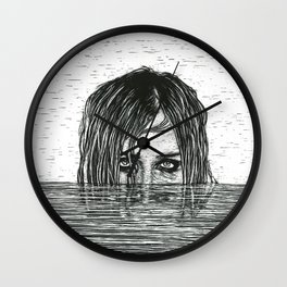 Never give up Wall Clock