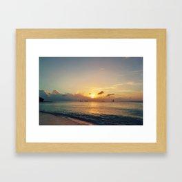 Fading Light Framed Art Print