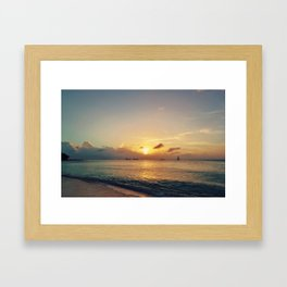 Fading Light Framed Art Print