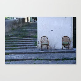 neapolitan living Canvas Print