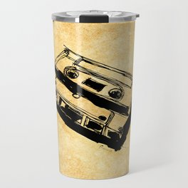 Retro Cassette Tape Travel Mug