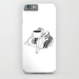 Big Breakfast iPhone Case