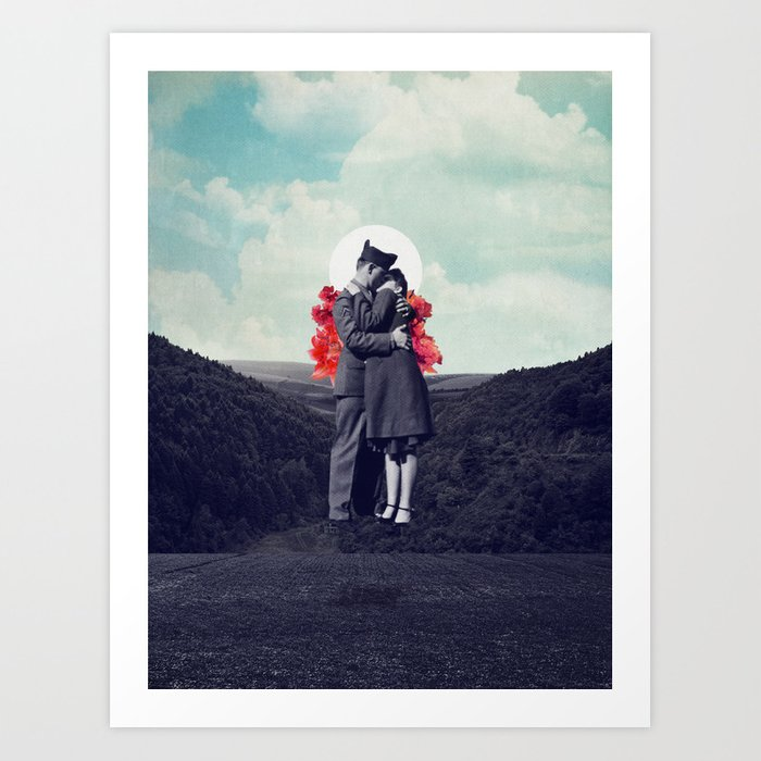 Hold My Breath Art Print