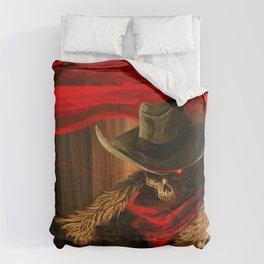 Skull Cowboy Comforters