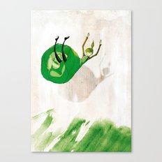 Lettuce Woman Canvas Print