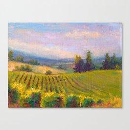 Fruit of the Vine Oregon Vineyard Canvas Print