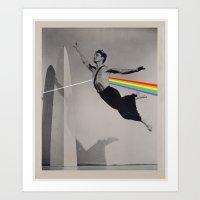 floyd Art Prints featuring Floyd by Blaz Rojs