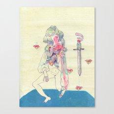 GENDER WARRIOR Canvas Print