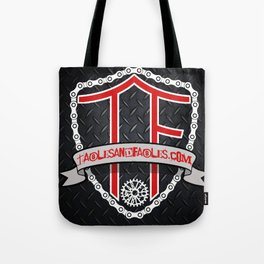 "Tables and Fables ""Shield"" Logo (version 2) Tote Bag"