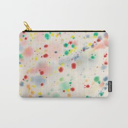 Watercolor Splashes Carry-All Pouch