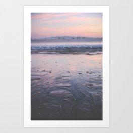 A California Sunset Art Print