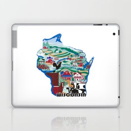 Wisconsin Country Sampler Laptop & iPad Skin