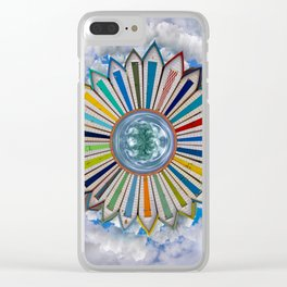 Castles on the Beach Clear iPhone Case