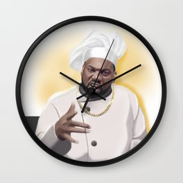 Killa Beez : The Chef Wall Clock