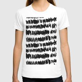 Modern Paint Stripe T-shirt