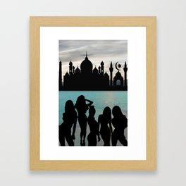 Babes on the Horizon Framed Art Print