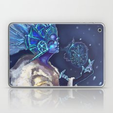 Snow Queen and a SnowFlake Laptop & iPad Skin