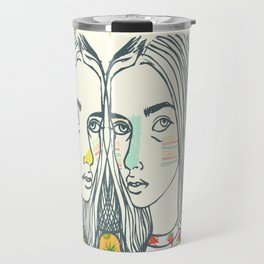 Last Sunset Twins Travel Mug