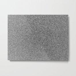 struktur in grey Metal Print