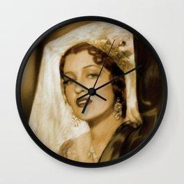 Jeanette MacDonald Wall Clock