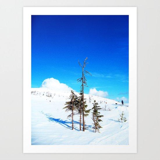 Still winter  (easter in Norway 2013) Art Print