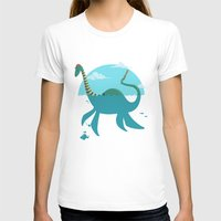"""earthbound T-shirts featuring Loch""""Ness"""" Monster by Michael B. Myers Jr."""