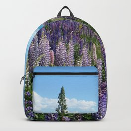 Colorful lupine towers Backpack