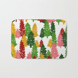 Scribble Trees Bath Mat