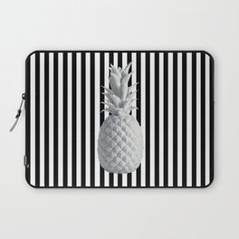 Black and White Anana | #society6 | Pineapple Laptop Sleeve