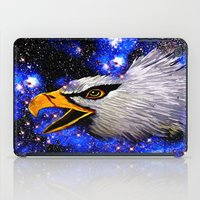 eagle iPad Cases featuring Eagle by Saundra Myles
