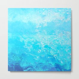 Texture nature garmonia sea 3 Metal Print