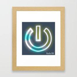 Mindful Power Framed Art Print