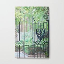 Heart Gate Metal Print